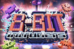 logo 8 bit intruders genesis slot game