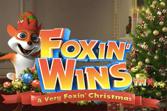logo a very foxin christmas nextgen gaming slot game