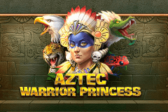 logo aztec warrior princess playn go slot game
