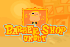 logo barber shop uncut thunderkick slot game