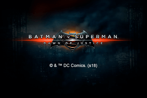 BATMAN V SUPERMAN DAWN OF JUSTICE PLAYTECH SLOT GAME