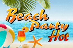 logo beach party hot wazdan slot game