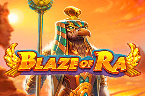 BLAZE OF RA PUSH GAMING SLOT GAME