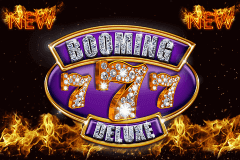 logo booming 7 deluxe booming games slot game