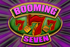 logo booming seven booming games slot game