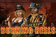 logo burning reels wazdan slot game
