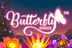 logo butterfly staxx netent slot game