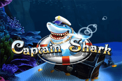 logo captain shark wazdan slot game