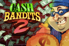 logo cash bandits 2 rtg slot game