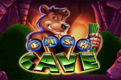 logo cash cave ainsworth slot game