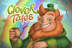 logo clover tales playson slot game