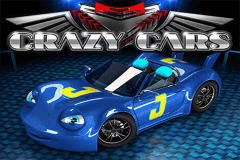 logo crazy cars wazdan slot game