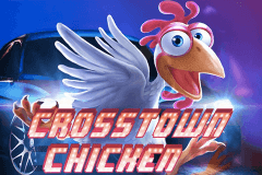 logo crosstown chicken genesis slot game