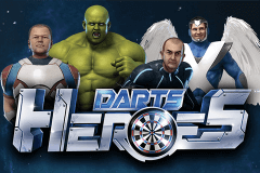 logo darts heroes stake logic slot game