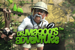 logo dr magoos adventure stake logic slot game