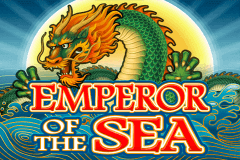 logo emperor of the sea microgaming slot game