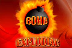 logo explodiac bally wulff slot game