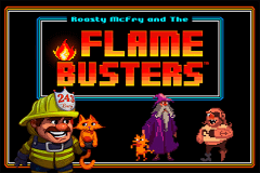 logo flame busters thunderkick slot game