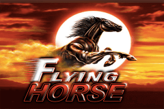 logo flying horse ainsworth slot game