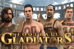 logo football gladiators stake logic slot game