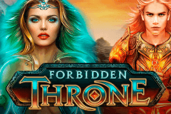 logo forbidden throne microgaming slot game