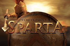 logo fortunes of sparta blueprint slot game