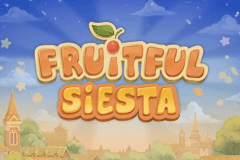 logo fruitful siesta playson slot game
