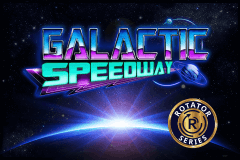 logo galactic speedway booming games slot game