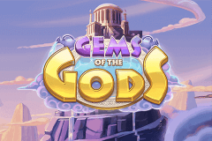 logo gems of the gods push gaming slot game