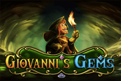 logo giovannis gems betsoft slot game