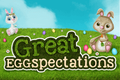 logo great eggspectations booming games slot game