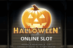 logo halloween microgaming slot game