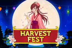 logo harvest fest booming games slot game