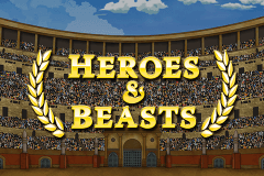 logo heroes beasts booming games slot game