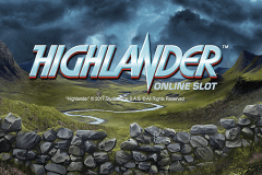 logo highlander microgaming slot game