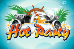 logo hot party wazdan slot game