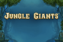 logo jungle giants playtech slot game