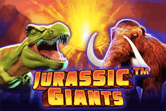 logo jurassic giants pragmatic slot game