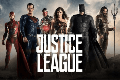 logo justice league playtech slot game
