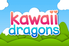 logo kawaii dragons booming games slot game