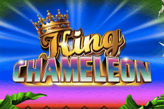 logo king chameleon ainsworth slot game