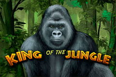 logo king of the jungle bally wulff slot game