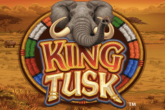 logo king tusk microgaming slot game
