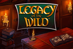 logo legacy of the wild playtech slot game
