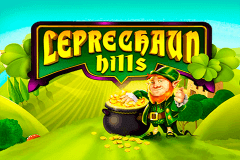 logo leprechaun hills quickspin slot game