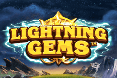 logo lightning gems nextgen gaming slot game