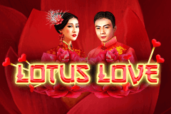 logo lotus love booming games slot game