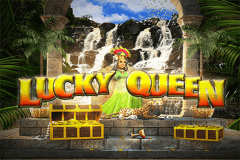 logo lucky queen wazdan slot game