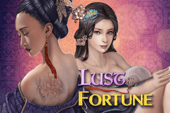 logo lust fortune genesis slot game