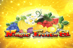 logo magic fruits 81 wazdan slot game